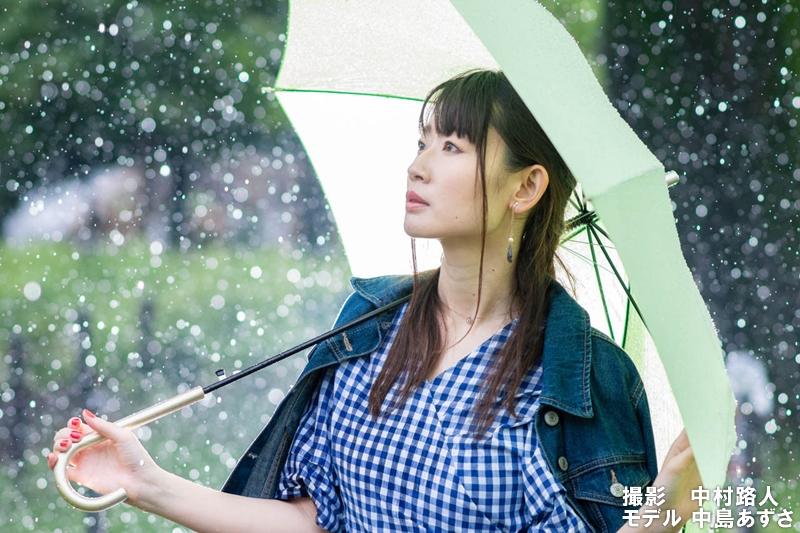 雨の日中シンクロ