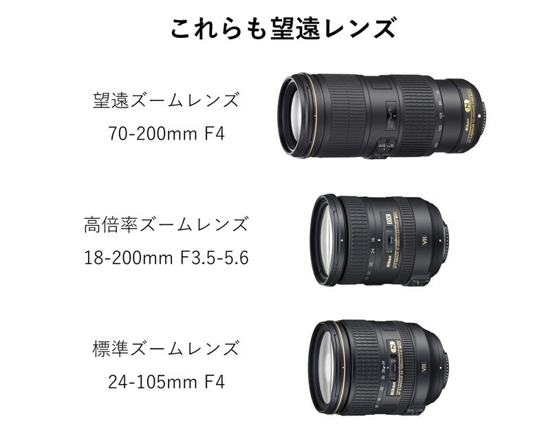 望遠レンズの種類