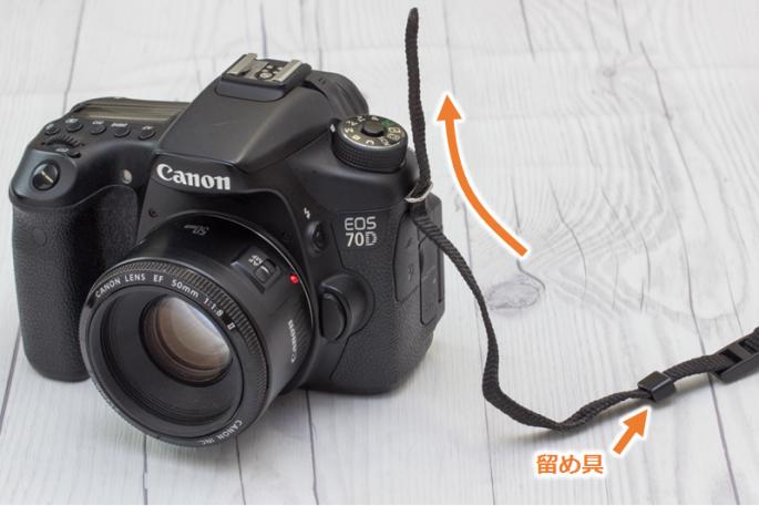 カメラストラップの付け方_01