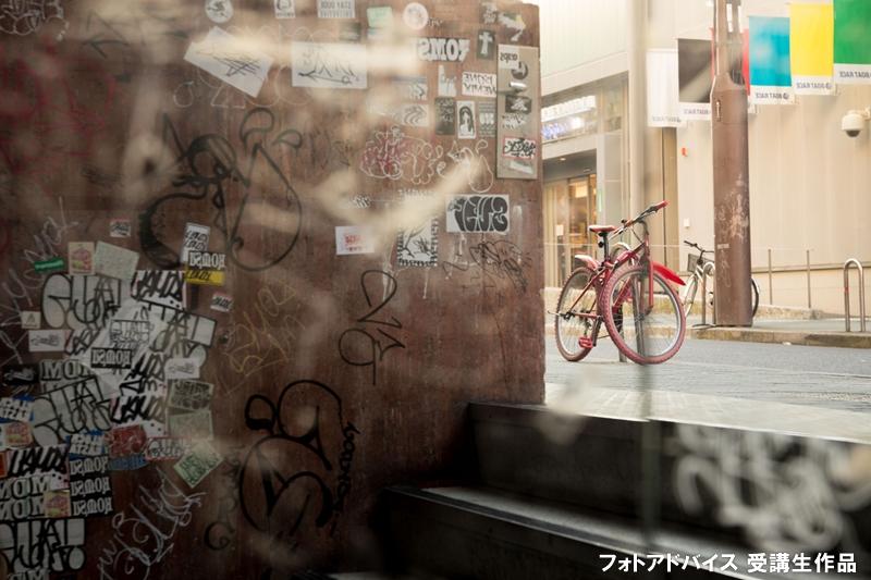 ISO感度オートで街角スナップの写真