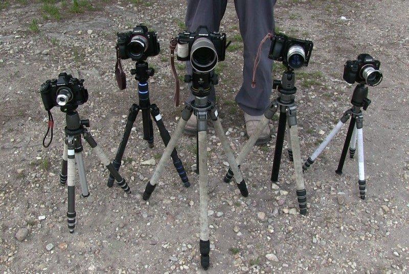 複数のカメラで撮影する