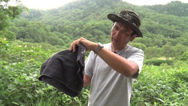 ホタル撮影の準備物 黒い布